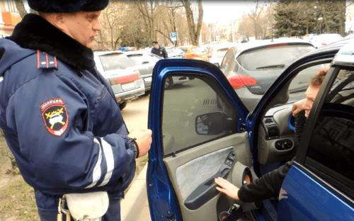 На Ставрополье проходит рейд по тонировкам автомобилей