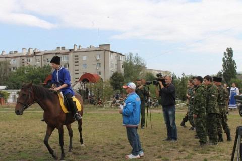 Краевые молодежные казачьи игры на Ставрополье