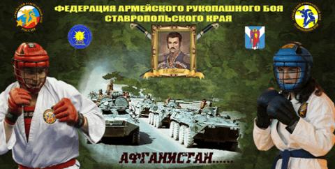 Турнир по армейскому рукопашному бою в Михайловске