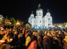 Православные Ставрополья встретили праздник Светлой Пасхи