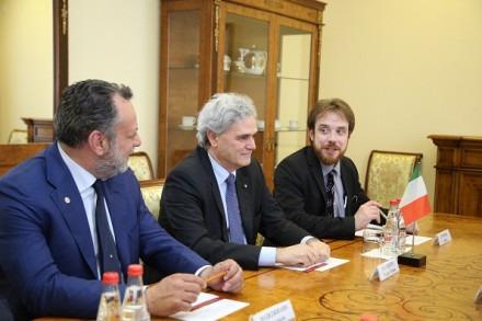 Полпред Президента в СКФО встретился с Послом Италии в РФ