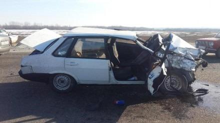 В Георгиевском районе в результате автоаварии 1 человек погиб и 1 ранен