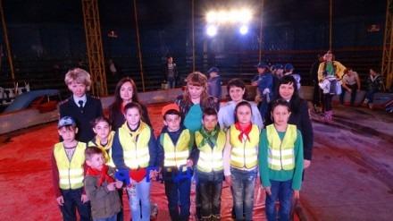 Акцию в поддержку детей пострадавших в ДТП провели автоинспекторы Ставрополья