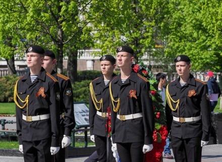 Ставропольские юнармейцы заступили в почетный караул у Кремля