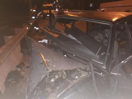 В Невинномысске произошло двойное ДТП при обгоне «КАМАЗа»