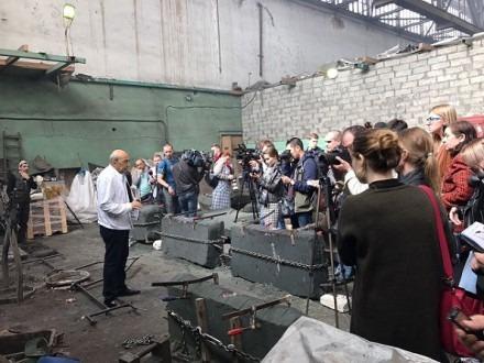 Скульптор Георгий Франгулян рассказал о монументе «Стена скорби»