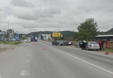В Предгорном районе автоледи на «МЕРСЕДЕСе» не справилась с управлением авто