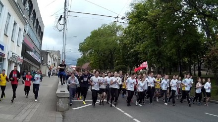 Ставропольцы приняли участие в краевом легкоатлетическом пробеге «Марафон Победы»