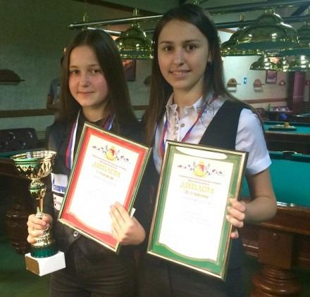 Алина Панфилова. Ставропольская спортсменка стала третьей в турнире по бильярду