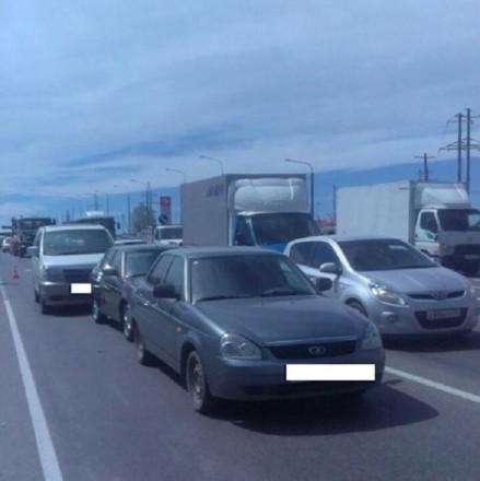 В Шпаковском районе в результате столкновения скончался 67-летний водитель