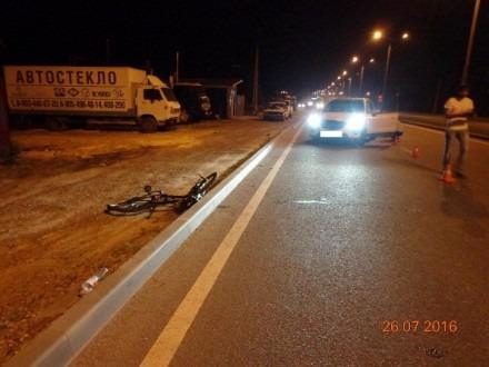 В Ставрополе на улице Космонавтов сбили велосипедиста
