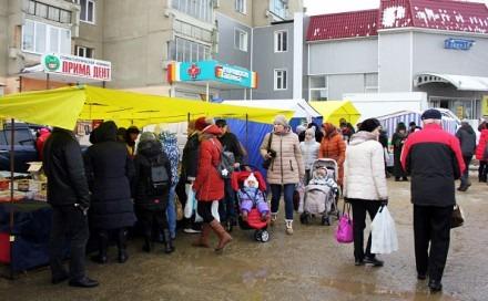 В Ставрополе прошла первая в 2017 году ярмарка выходного дня