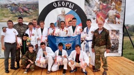 Международные патриотические военно-спортивные сборы «Православный Воин — 2016»