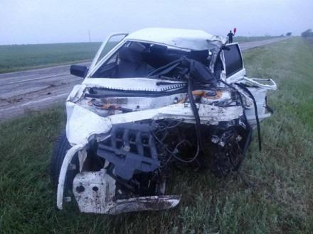 Водитель погиб в лобовом столкновении с автомобилем ГАИ