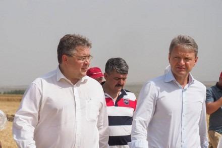 Министр сельского хозяйства РФ прибыл с рабочим визитом в Ставропольский край