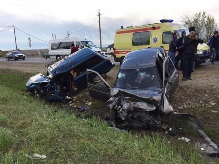 В Шпаковском районе молодой водитель спровоцировал серьезное ДТП