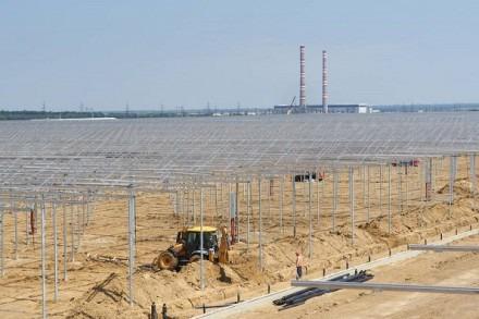 Строительство тепличного комплекса «Солнечный дар» в Солнечнодольске