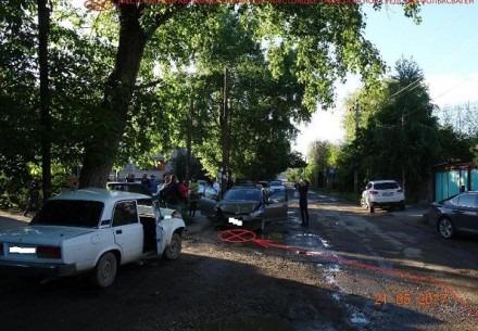 В Георгиевске в ДТП пострадали двое детей