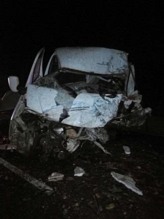 В Буденновском районе в лобовом столкновении погибли 2 водителя