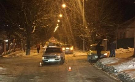 В Лермонтове в результате столкновения пострадал пассажир такси