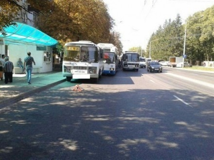 В Ставрополе столкнулись троллейбус и автобус
