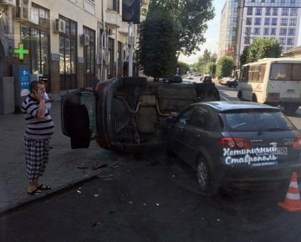 В Ставрополе в ДТП с двумя авто пострадал 8-летний мальчик