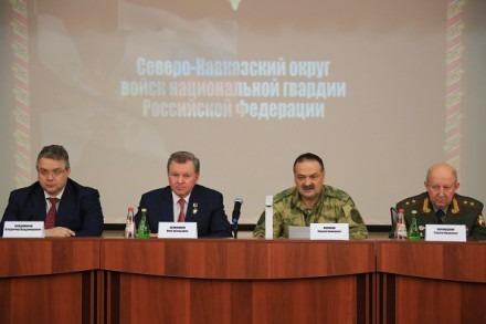 генерал-лейтенант Сергей Корнюшкин. В войсках национальной гвардии по Северному Кавказу новый командующий