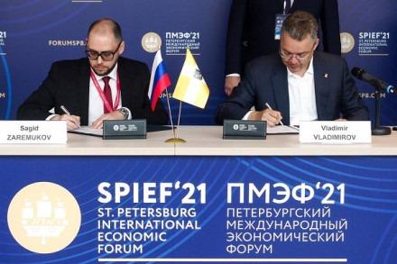 Владимир Владимиров на ПМЭФ-2021