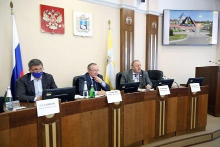 Заседании комитета по казачеству, безопасности, межпарламентским связям и общественным объединениям Думы Ставрополья