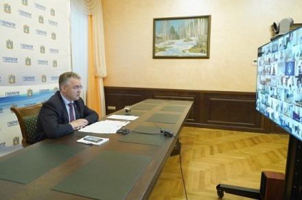 Владимир Владимиров. Еженедельное совещание в правительстве края
