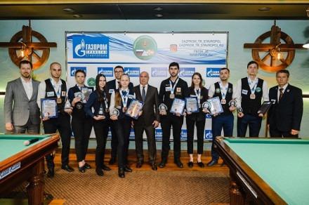 Победители чемпионата ЮФО и СКФО по бильярдному спорту