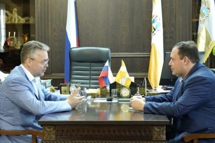 Рабочая встреча с директором Московского бюро по правам человека