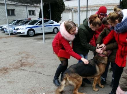 «Студенческий десант» Ставрополья прошел стажировку в подразделениях полиции