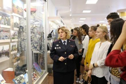 Музей истории органов внутренних дел Ставропольского края открыл двери для учащихся краевого центра