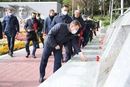 Памятная церемония, посвященная 78-й годовщине разгрома советскими войсками немецко-фашистских войск в битве за Кавказ