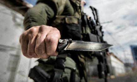 Нож у спецназовца