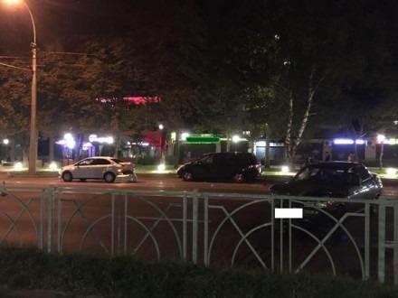 ДТП на 50 лет ВЛКСМ в Ставрополе