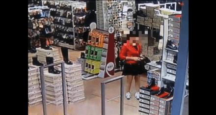 Кража телефона в магазине