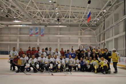 Кисловодский хоккейный клуб «Нарзан» завоевал серебряные медали на ветеранском турнире